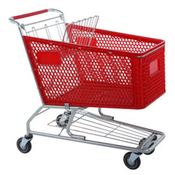 Plastic Shopping Trolleys